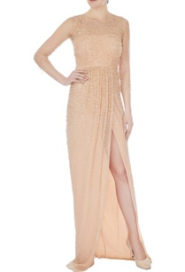 peach-hand-embroidered-tulle-net-gown