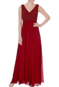 marsala-hand-embroidered-sequin-gown