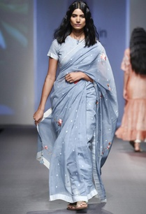 midnight-blue-silk-chanderi-parsi-embroidered-sari-with-blouse-and-petticoat