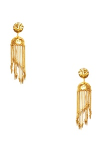 gold-plated-jhumka-long-earrings