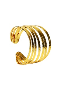 gold-plated-multiple-layered-cuff-bangle