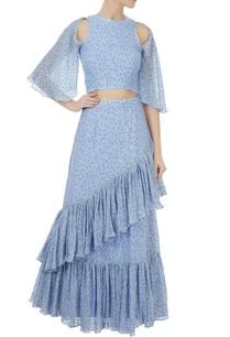 periwinkle-blue-spanish-maxi-ruffle-skirt
