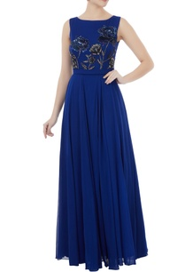 royal-blue-georgette-hand-crafted-seqin-bead-work-jumpsuit