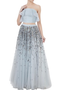 ice-blue-organza-net-hand-crafted-stone-bead-sequin-nakshi-work-lehenga-with-blouse