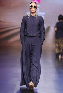 navy-blue-embellished-shirt-with-flared-palazzos