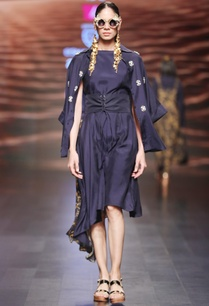 navy-blue-asymmetric-modal-silk-dress