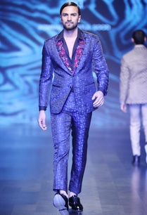 black-blue-blended-silk-satin-sequin-jacket