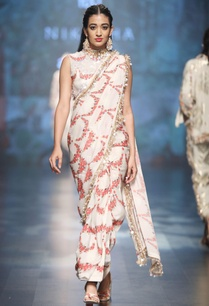 ivory-crepe-dupion-scalp-printed-sari-with-blouse