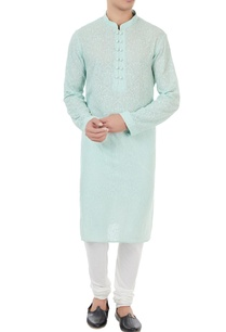 mint-blue-threadwork-embroidered-kurta