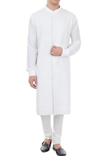 white-linen-classic-kurta