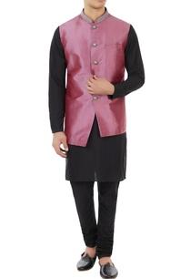 maroon-dupion-silk-bundi-jacket