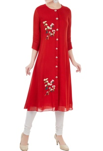 red-geet-hand-embroidered-kurta