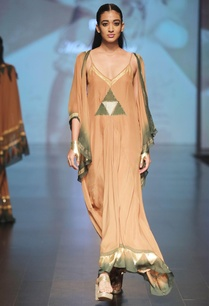 caramel-brown-olive-flowy-cape