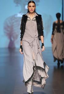 grey-cotton-silk-wrap-style-dress