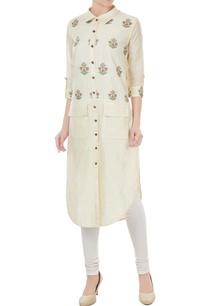 off-white-silk-jamdani-floral-weave-tunic