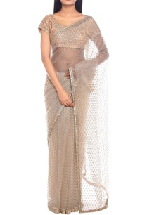 ivory-net-gota-embroidered-sari-with-blouse