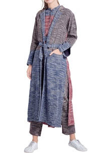 blue-grey-khadi-cotton-trench-jacket