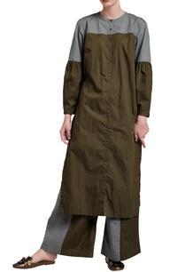 military-green-grey-palazzo-pants