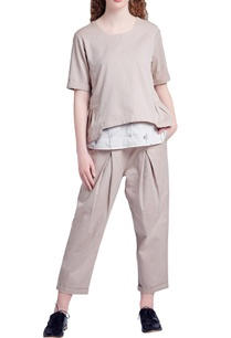 beige-recycled-cotton-casual-fit-pants