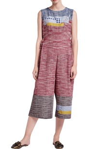 grey-red-upcycled-khadi-cotton-jumpsuit