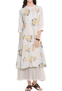 cream-handloom-cotton-embroidered-dress