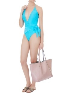 aqua-blue-polyamide-lycra-drape-halter-neck-monokini