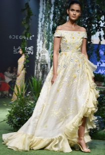 pale-yellow-ivory-cascading-ruffled-gown