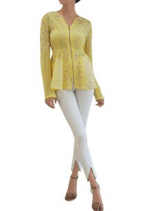 pale-primrose-sheer-silk-georgette-godet-jacket