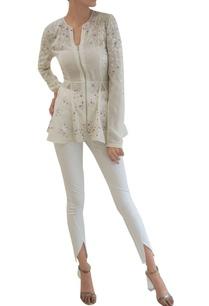 ivory-sheer-silk-georgette-godet-jacket