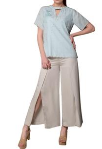 icy-blue-choker-style-eucalyptus-fabric-blouse