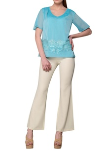blue-georgette-embroidered-blouse