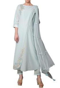 blue-chiffon-silk-embroidered-kurta-set