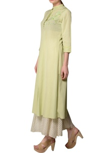 light-green-sequin-embroidered-kurta