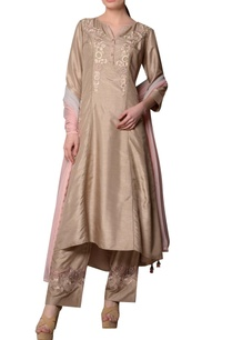 stone-grey-sanam-silk-embroidered-kurta-with-embroidered-pants