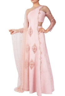 pink-organza-pearl-embellished-concept-anarkali-gown-with-stole