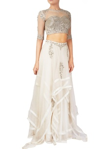 white-organza-tussar-silk-lehenga-blouse