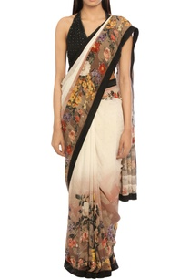 ivory-black-viscose-chinon-embroidered-sari-with-blouse