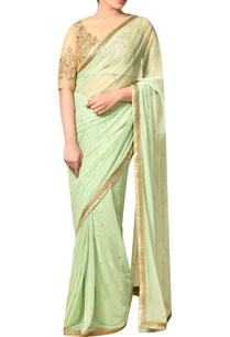 mint-green-nylon-net-embroidered-saree-with-blouse