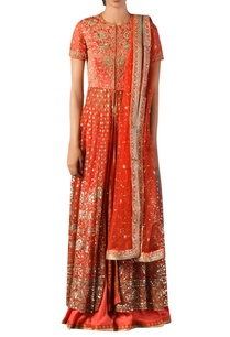 coral-aari-work-hand-embroidered-kurta-set