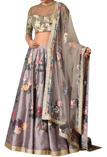 grey-polyester-dupion-embroidered-lehenga-with-blouse-dupatta