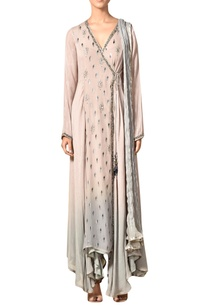 lilac-grey-imported-silk-kurta-set