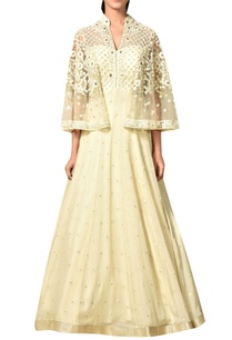 off-white-bell-sleeves-viscose-georgette-gown