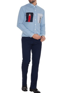 light-blue-cotton-machine-embroidered-slim-fit-shirt