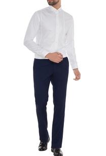 white-cotton-applique-work-slim-fit-shirt
