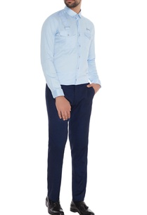 light-blue-cotton-suspender-work-slim-fit-shirt