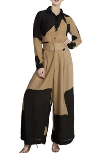 black-repier-cotton-color-blocked-shirt-with-palazzos
