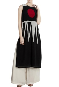 black-crepe-geometric-bingi-long-tunic-with-palazzos