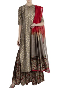 grey-silk-satin-chanderi-kalash-print-sharara-with-kurta-dupatta