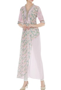 pink-cotton-silk-dori-work-asymmetric-kurta
