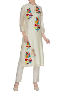 ivory-chanderi-silk-patchwork-hand-embroidered-sequins-kurta